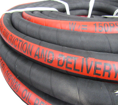 oil suction and delivery hose